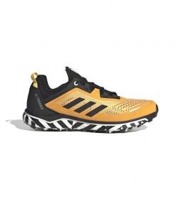 adidas Terrex Zapatillas Terrex Running Agravic Flow amarillo