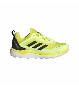 adidas Terrex Zapatillas Terrex Agravic Flow K amarillo