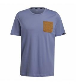 adidas Terrex Camiseta Terrex Graphic violeta