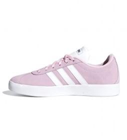 adidas vl court rosa