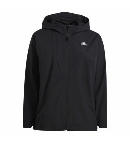 Chaqueta impermeable W BSC 3S R.R. J negro