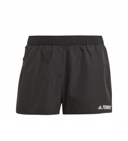 adidas Pantalón corto Terrex Primeblue Trail Running negro