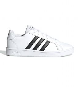 Zapatillas Grand Court blanco, negro