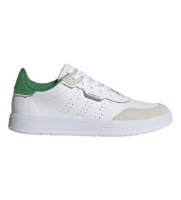 Zapatillas de piel  Courtphase blanco