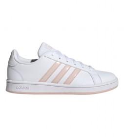 Zapatillas de piel Grand Court Base blanco