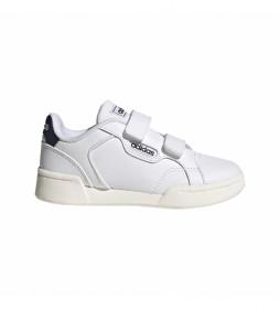 Zapatillas de piel Roguera blanco