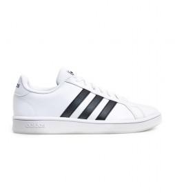 Zapatillas Grand Court Base blanco, negro