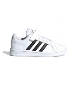 Zapatillas Grand Court C blanco, negro