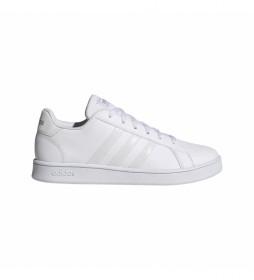 Zapatillas Grand Court K blanco