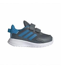 Zapatillas Tensaur Run I gris, azul