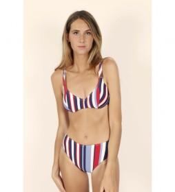 Bikini Aro Elegant Stripes marino