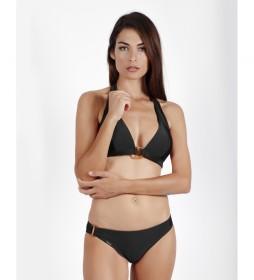Bikini Halter Dubarry negro