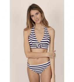 Bikini Halter Sailor marino