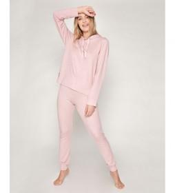 Pijama Make it Happen rosa palo