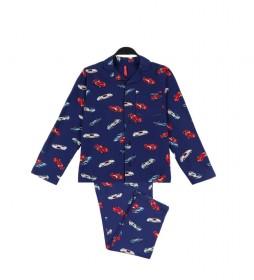 Pijama Grand Prix azul