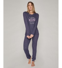 Pijama Hello Weekend azul