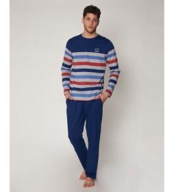 Pijama Monde marino
