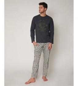 Pijama  National gris