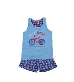 Pijama Tirantes Feel Good azul