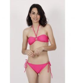 Bikini Bandeau Flip Flop rosa