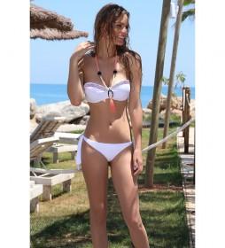 Bikini Beachsun bandeau blanco