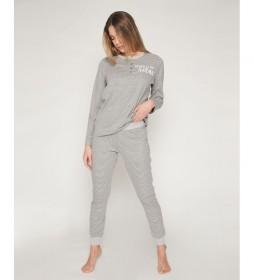 Pijama Relax gris