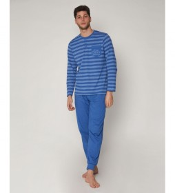 Pijama Stronger azul