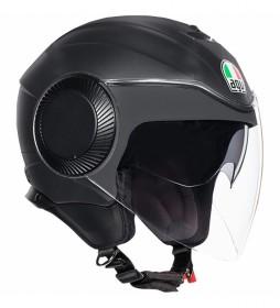Agv Orbyt jet helmet black matt