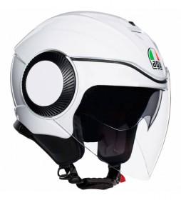 Agv Orbyt jet helmet pearl white