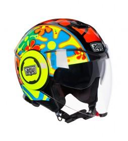 Agv Jet helmet Fluid valencia 2003