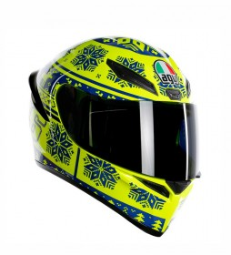 Agv Casco integral K1 Winter Test 2015