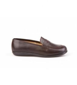 Calzado de Mocasín  Colegial marrón