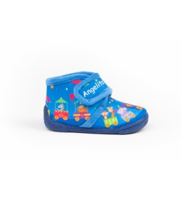 Zapatillas de casa 137 azul
