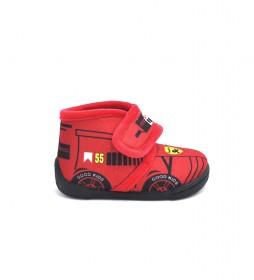 Zapatillas de casa 140 rojo