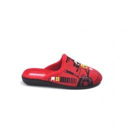 Zapatillas de casa 142 rojo