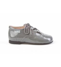 Zapatos de piel 1505 gris