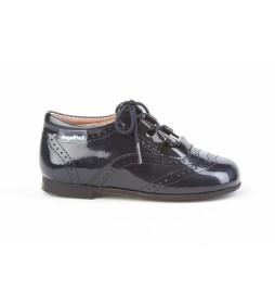 Zapatos de piel 1505 marino