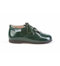 Zapatos de piel 1505 verde