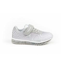 Zapatillas Aventura & Luces gris, plateado