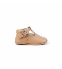 Zapatos de piel Pepito camel