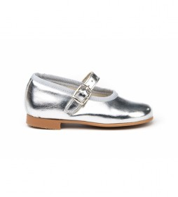 Calzado/Francesita metalizada plata