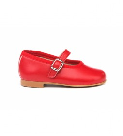 Calzado/Francesita Napa rojo