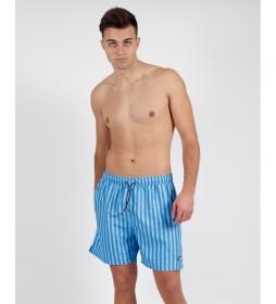 Bañador Stripes azul