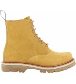 Botines de piel Soma 1199 amarillo