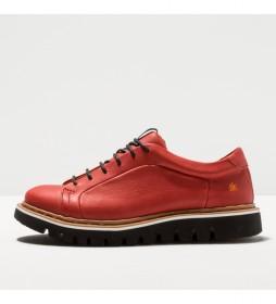 Zapatos de piel 1400 Toronto rojo