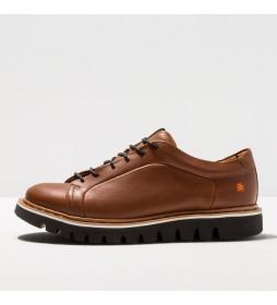 Zapatos de piel 1400 Toronto marrón
