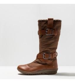 Botas de piel 1435 Antibes marrón