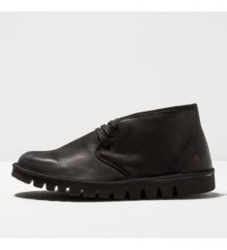 Zapato de piel 1586 Ontario negro