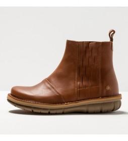 Botines de piel 1733 Misano marrón