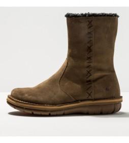 Botas de piel 1734 Lux Misano marrón